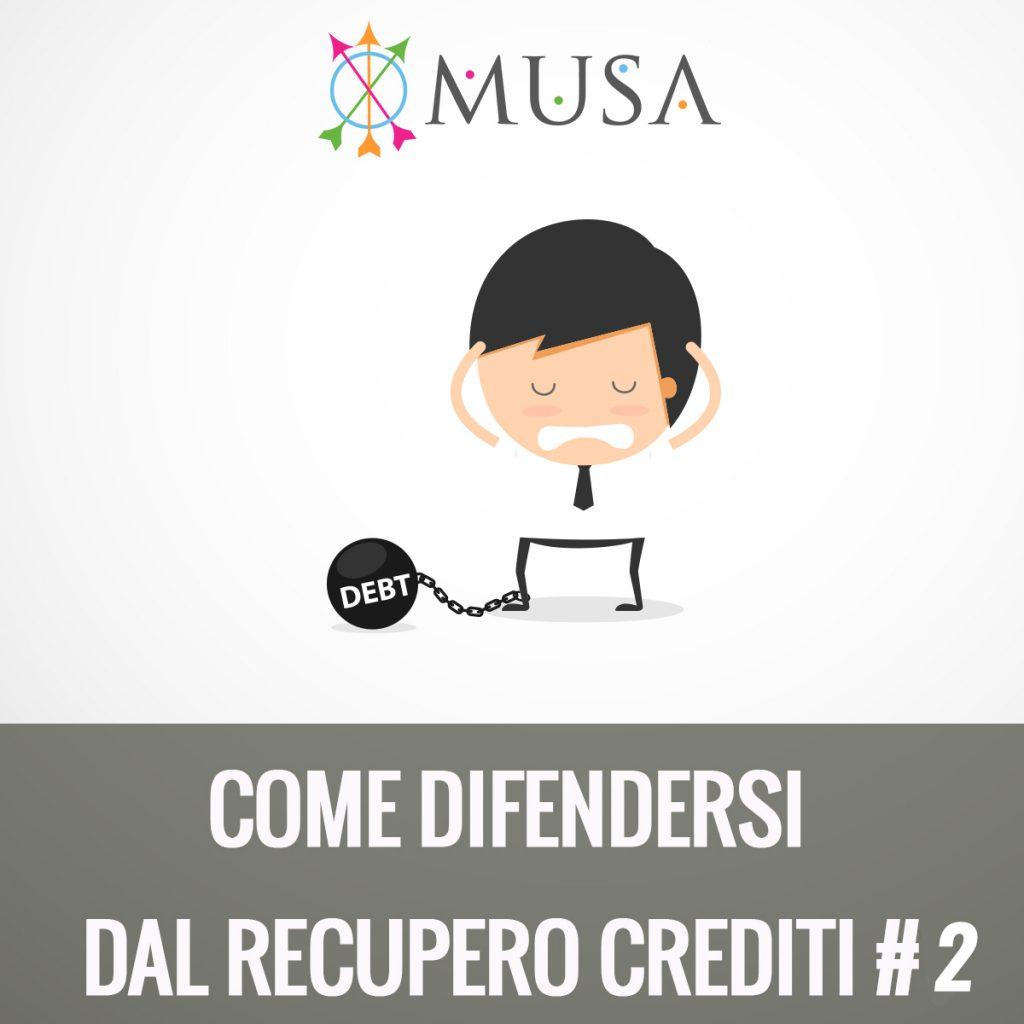 Come difendersi dal recupero crediti 2