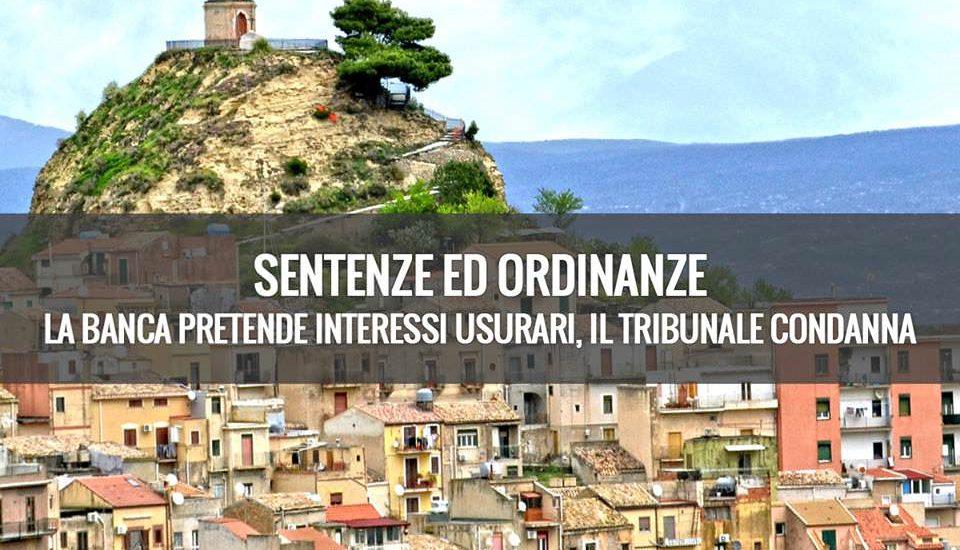 interessi usurari Catania