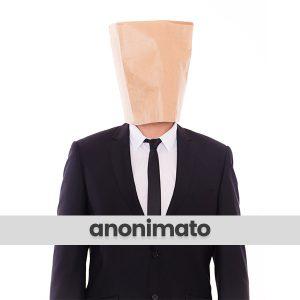 anonimato debiti