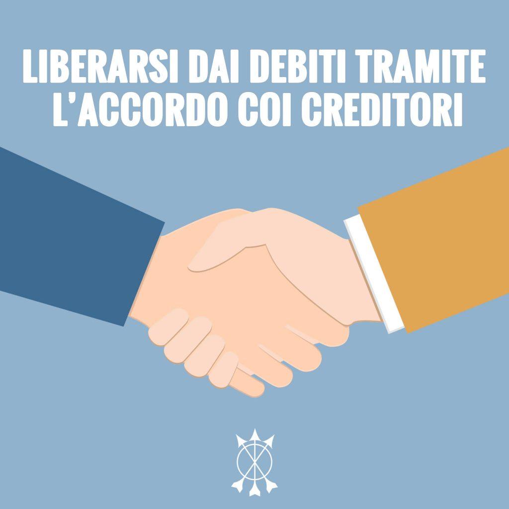 Liberarsi dai debiti è adesso più semplice per il consumatore attraverso l'accordo con i creditori